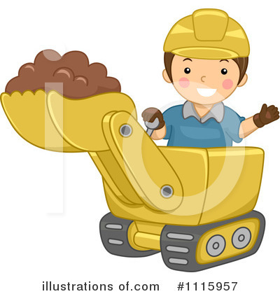 Heavy Machinery Clipart #1115957 by BNP Design Studio