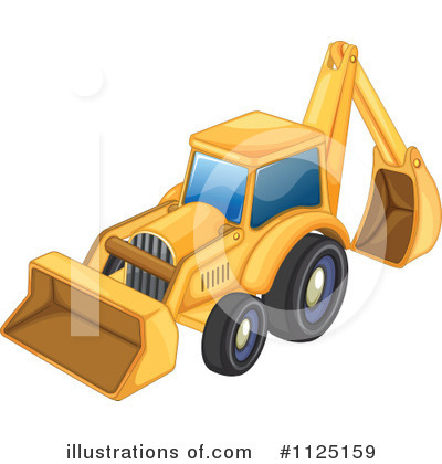 Heavy Machinery Clipart #1125159 by Graphics RF