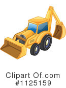 Bulldozer Clipart #1125159 by Graphics RF