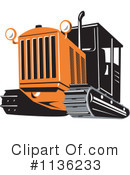 Bulldozer Clipart #1136233 by patrimonio