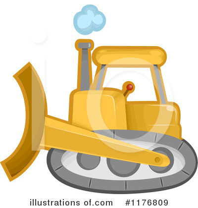 Heavy Machinery Clipart #1176809 by BNP Design Studio