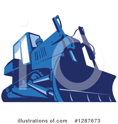 Heavy Machinery Clipart #1287673 by patrimonio