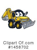Bulldozer Clipart #1458702 by AtStockIllustration