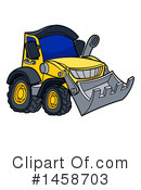 Bulldozer Clipart #1458703 by AtStockIllustration