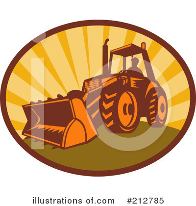 Bulldozer Clipart #212785 by patrimonio