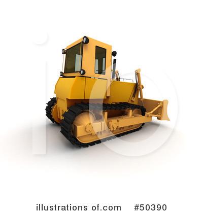 Royalty free rf bulldozer clipart illustration by franck boston