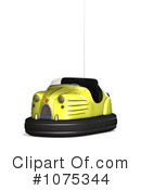 Bumper Cars Clipart #1075344 by Ralf61