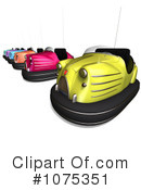 Bumper Cars Clipart #1075351 by Ralf61