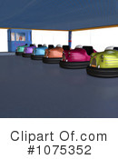 Bumper Cars Clipart #1075352 by Ralf61