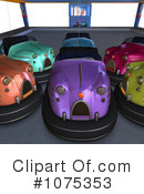 Bumper Cars Clipart #1075353 by Ralf61
