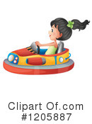 Bumper Cars Clipart #1205887 by Graphics RF