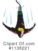 Royalty-Free (RF) Bungee Jumping Clipart Illustration #1136221