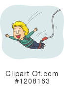 Bungee Jumping Clipart #1208163 by BNP Design Studio