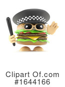 Burger Clipart #1644166 by Steve Young