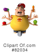 Burger Man Clipart #82034