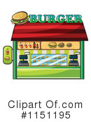 Royalty-Free (RF) Burgers Clipart Illustration #1151195