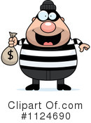 Royalty-Free (RF) Burglar Clipart Illustration #1124690
