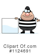 Royalty-Free (RF) burglar Clipart Illustration #1124691