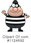 Royalty-Free (RF) Burglar Clipart Illustration #1124692