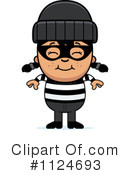 Royalty-Free (RF) burglar Clipart Illustration #1124693