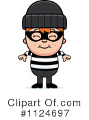 Royalty-Free (RF) burglar Clipart Illustration #1124697