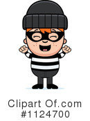 Royalty-Free (RF) burglar Clipart Illustration #1124700
