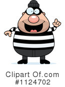 Royalty-Free (RF) burglar Clipart Illustration #1124702
