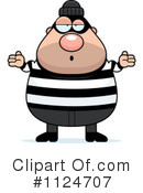 Royalty-Free (RF) burglar Clipart Illustration #1124707