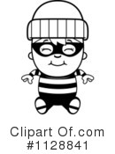 Royalty-Free (RF) burglar Clipart Illustration #1128841