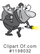Burglar Clipart #1198032 by toonaday