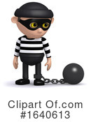 Burglar Clipart #1640613 by Steve Young