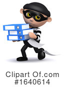 Burglar Clipart #1640614 by Steve Young