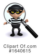 Burglar Clipart #1640615 by Steve Young