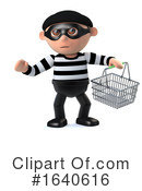 Burglar Clipart #1640616 by Steve Young