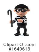 Burglar Clipart #1640618 by Steve Young