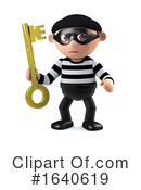 Burglar Clipart #1640619 by Steve Young