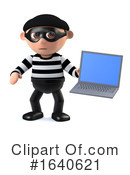 Burglar Clipart #1640621 by Steve Young