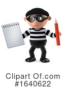 Burglar Clipart #1640622 by Steve Young