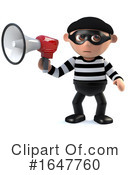 Burglar Clipart #1647760 by Steve Young