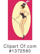 Burlesque Clipart #1372580 by BNP Design Studio