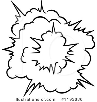 Explosion Clipart #1193686 by Vector Tradition SM