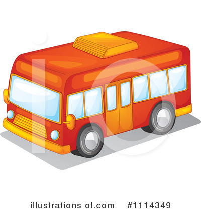 Bus Clipart #1114349 by Graphics RF