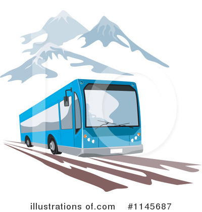 Bus Clipart #1145687 by patrimonio