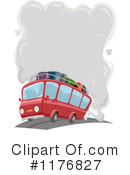 Royalty-Free (RF) Bus Clipart Illustration #1176827