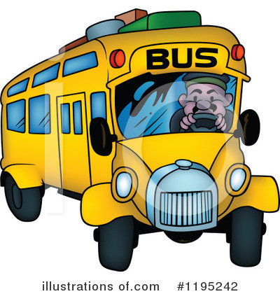 Bus Clipart #1195242 by dero