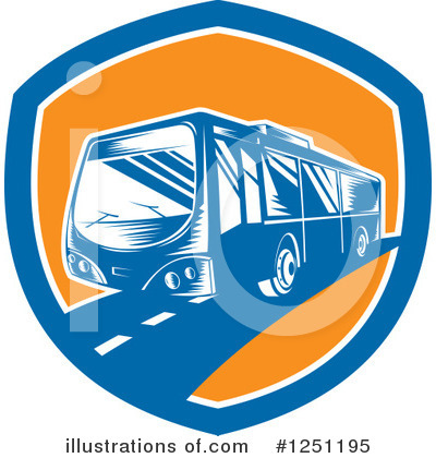 Bus Clipart #1251195 by patrimonio