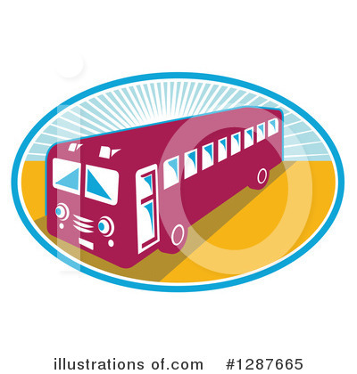 Bus Clipart #1287665 by patrimonio