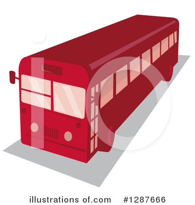 Bus Clipart #1287666 by patrimonio
