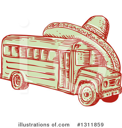 Bus Clipart #1311859 by patrimonio