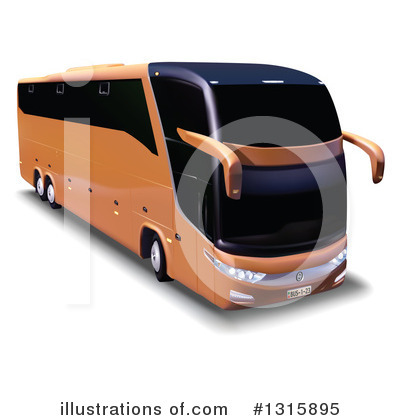 Bus Clipart #1315895 by dero